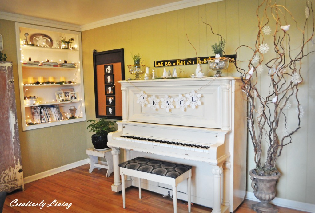 Creatively Living piano