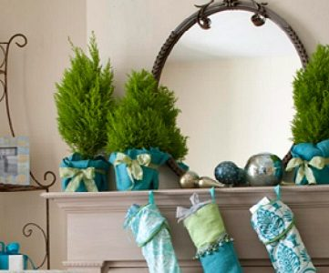 Home Sweet Home for Christmas:  Mantel Inspiration