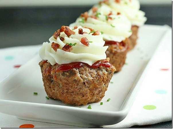 First Look Then Cook Meatloaf Cupcakes