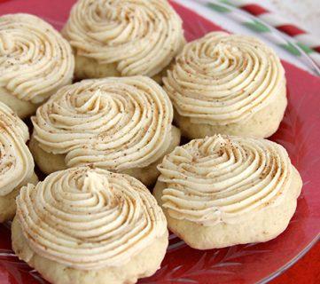Eggnog-Cookies recipe