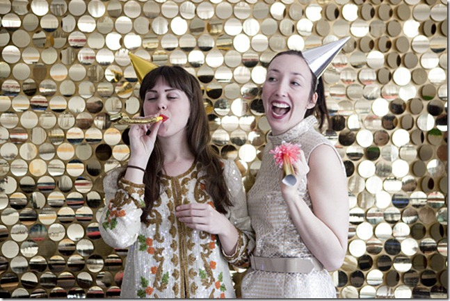 Oh Happy Day sequin photobooth
