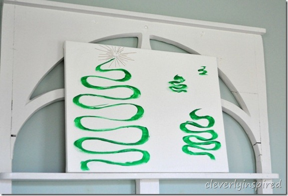 Remodelaholic Christmas Tree Canvas Art