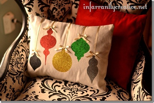 Remodelaholic Ornament Pillow