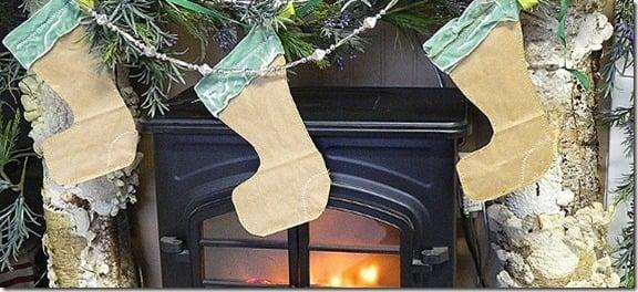 Remodelaholic Paper Stockings