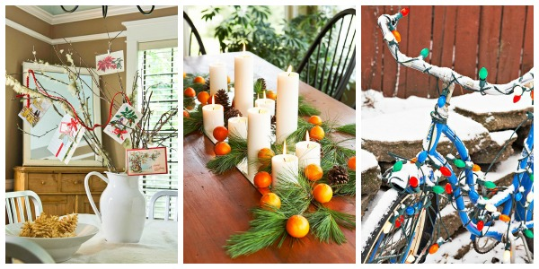 Home Sweet Home on a Budget:  Holiday Traditions and a LINKUP