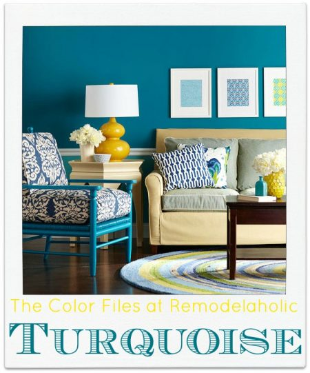 best paint colors for your home: turquoise - construction - haven