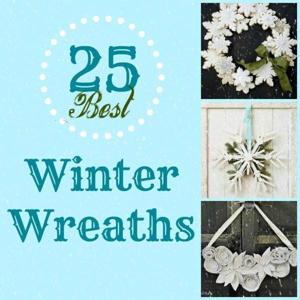 Remodelaholic 25 Best Winter Wreaths