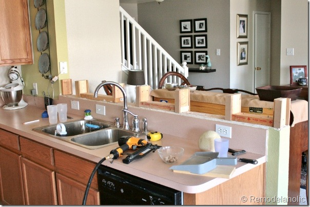 Remodelaholic Small Kitchen Cha Cha Changes