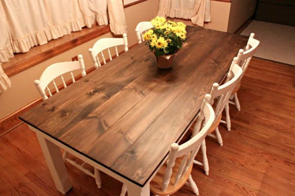 Attempts At Domestication Farmhouse Table 1