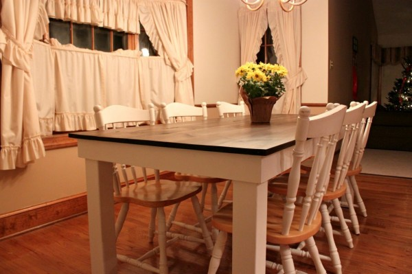 attempts at farmhouse table 7