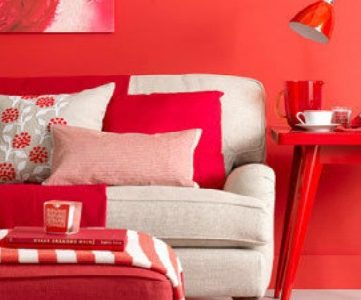 Best Colors for Your Home:  RED