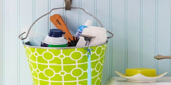 Home Sweet Home on a Budget:  Bathroom Organization