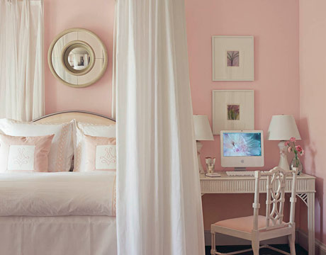 Quarto rosa suave DecorPad