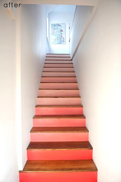 Projeto Esponja escadas de coral