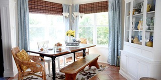 Dining-Room-updates-bamboo-shades-bench-wicker-chairs-white-hutch-blue-and-yellow-2_thumb1