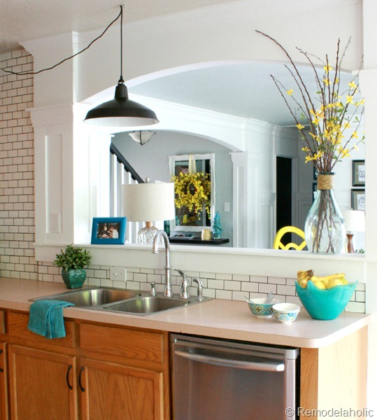 Kitchen Makeovers On A Budget Before And After great ideas to update oak kitchen cabinets