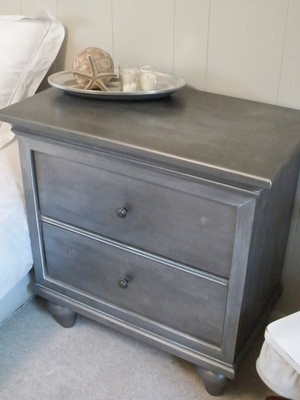 Freckled Laundry zinc nightstand