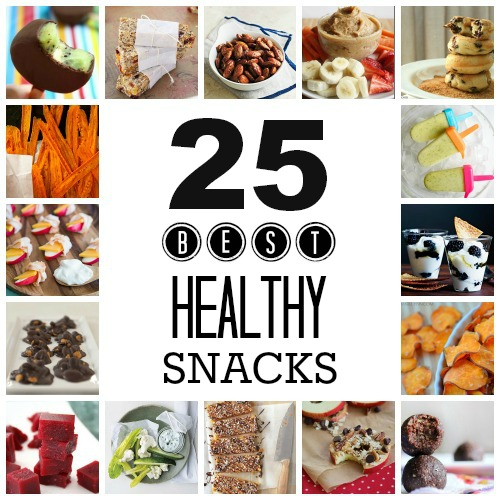 Healthy Snacks Pin Pic