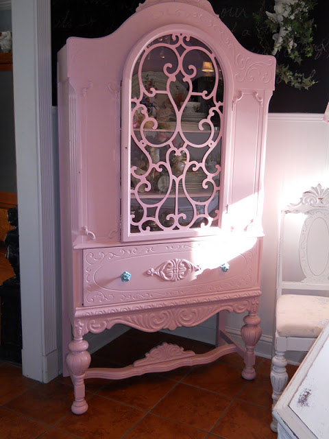 Hopeless Romantic china hutch