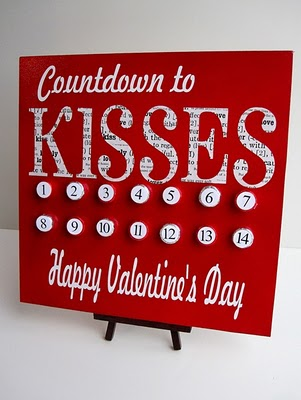 Infarrantly creative valentine's countdown