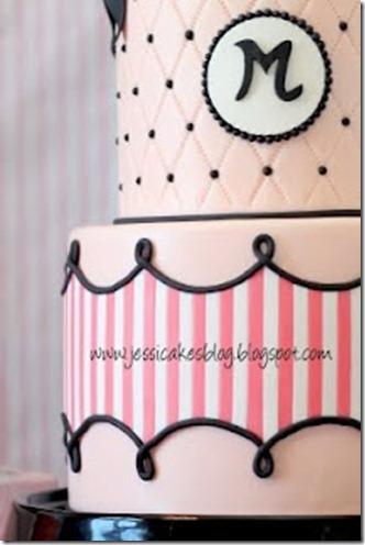 Jessicakes Fashion birthday cake