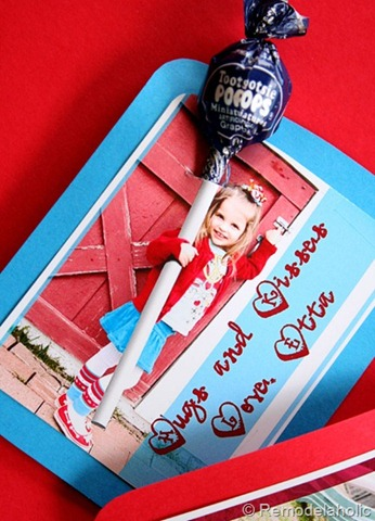 Large Lillipop Photograph Valentine