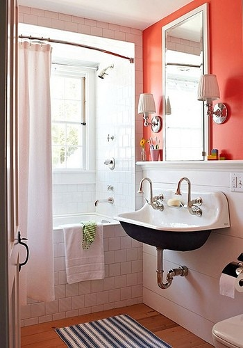 Milk and Honey coral bath