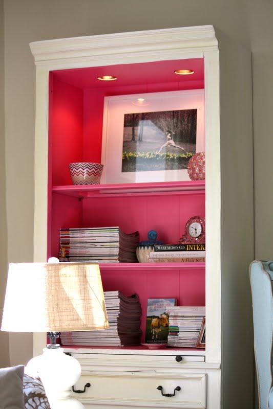 Meu velho Country House rosa prateleiras estante