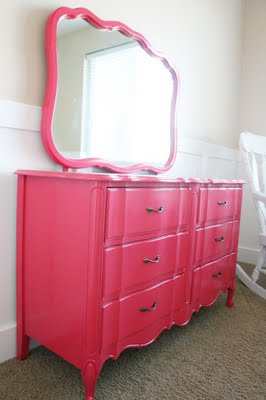 Natures Heirloom pink dresser