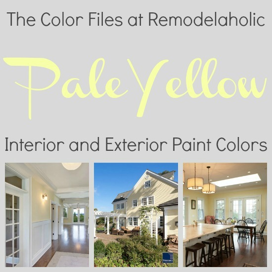 Best Yellow Paint remodelaholic | best colors for your home: pale yellow