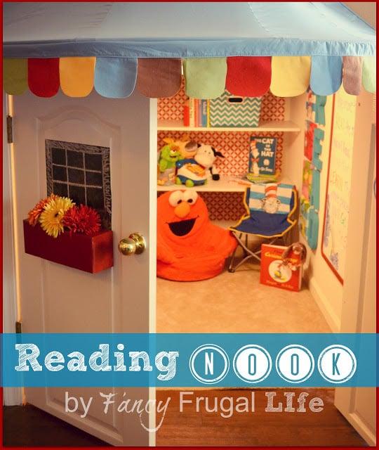 Reading Nook Fancy Frugal Life