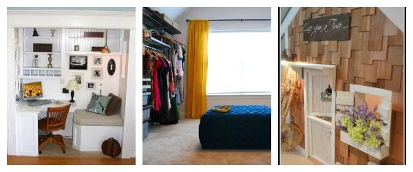 Remodelaholic Closet Collage