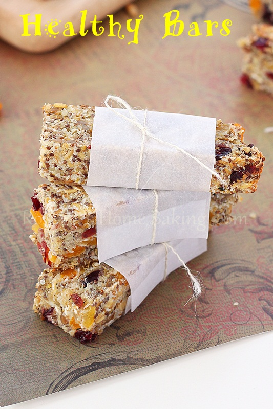 Roxanna's Home Baking healthy bars