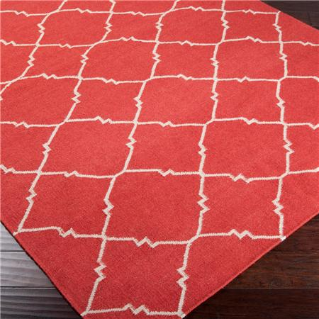 Shades Of Light Coral Rug
