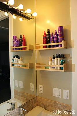Suite Revival spice rack styling storage