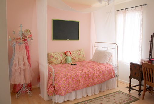 The Pink Peony fun pink girls room