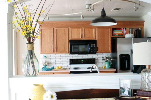 How To Update Oak Kitchen Cabinets Without Painting Them