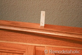 Upgrade Oak Kitchen Cabinets With Crown Moldings-20