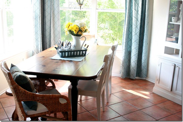dining room updates - Simple Dining Room