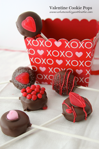 no bake cookie pops valentine (4)