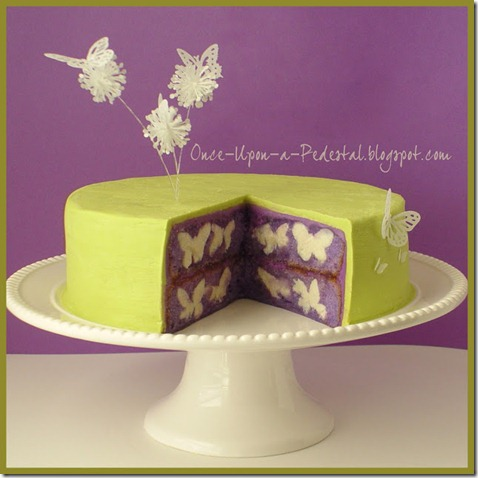 Once upon a pedestal butterfly cake best birthday cake ideas