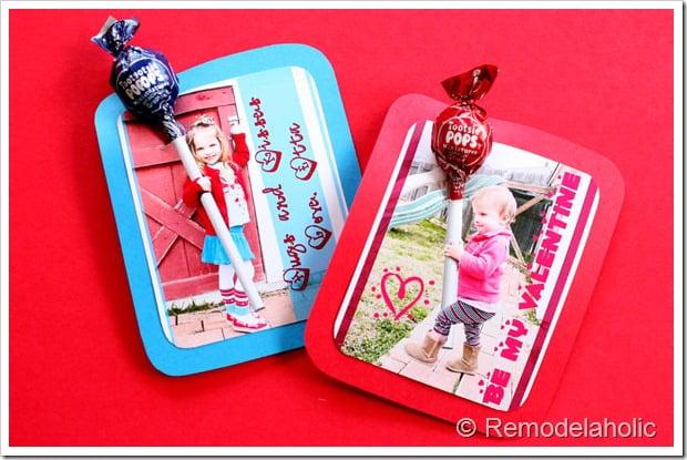 remodelaholic valentine sucker card