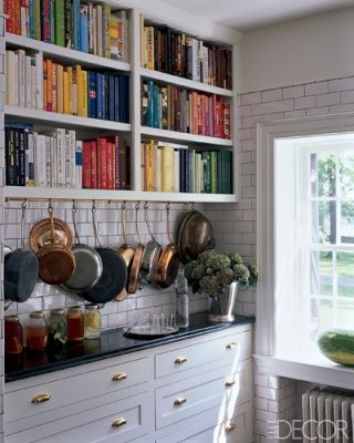 white subway tile with black grout kitchen1