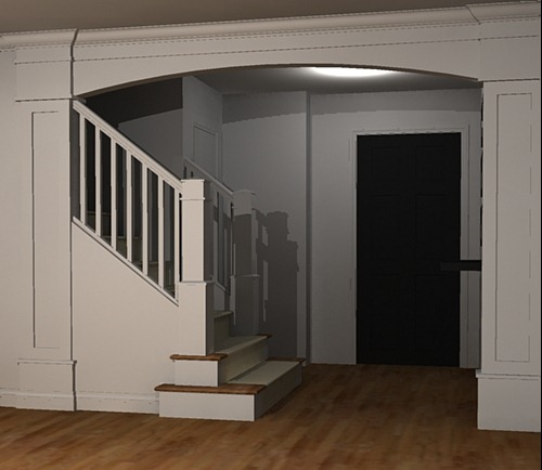 Beautiful Budget Stair Remodel; From Carpet To Wood Treads