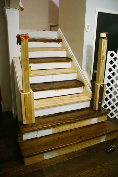 (I Left The 5 Upper Stairs Carpet, And While It May Seem Strange It Was The  Easiest Place To Stop The Wood Since Our ...