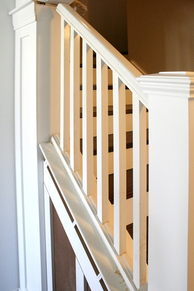 Replace Stair Railing With Half Wall Joy Studio Design Gallery Best Design