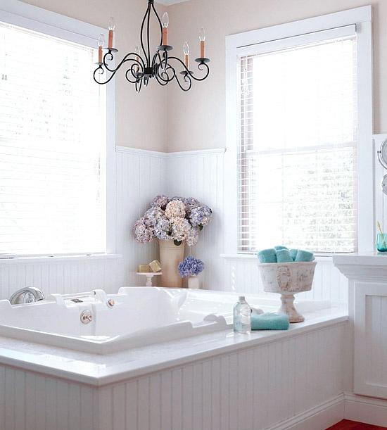 Elegant Bathroom Makeovers: Elegant Neutral Bathroom Renovation