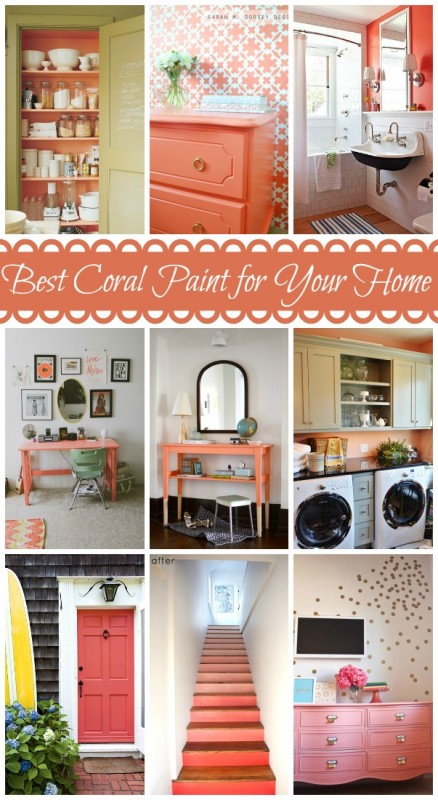 Coral lamp shade - Featured And Pinterest Friendly Pictures From Better Homes Amp Gardens