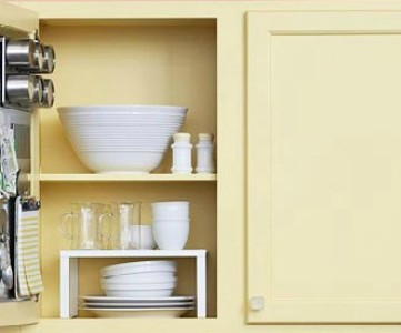 Home Sweet Home on a Budget:  Kitchen Storage Ideas
