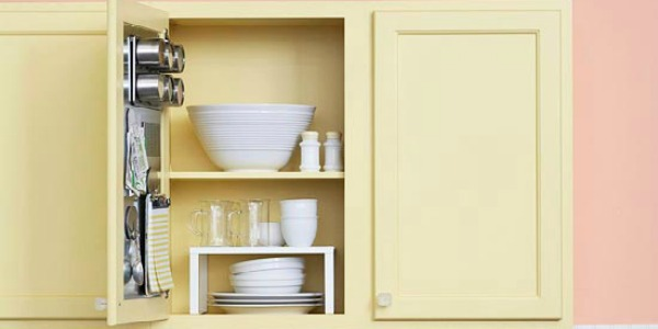 Inexpensive Kitchen Storage Ideas remodelaholic | diy kitchen storage
